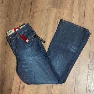 NWT Gitano Studded Detail Boot Cut Jean